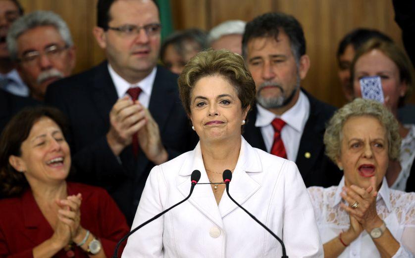 Dilma Rousseff le 12 mai 2016