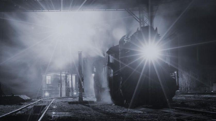 """Le train"" de Georges Simenon"