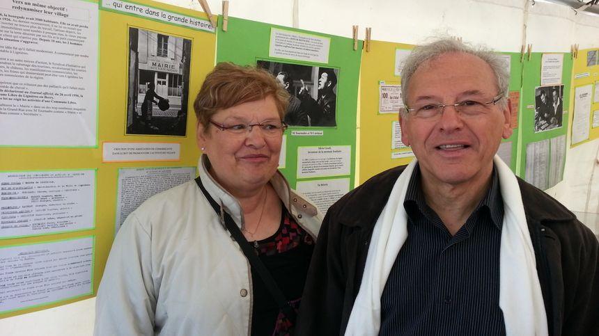 Jean-Pierre et sa soeur Michèle : leurs parents avaient été précurseurs