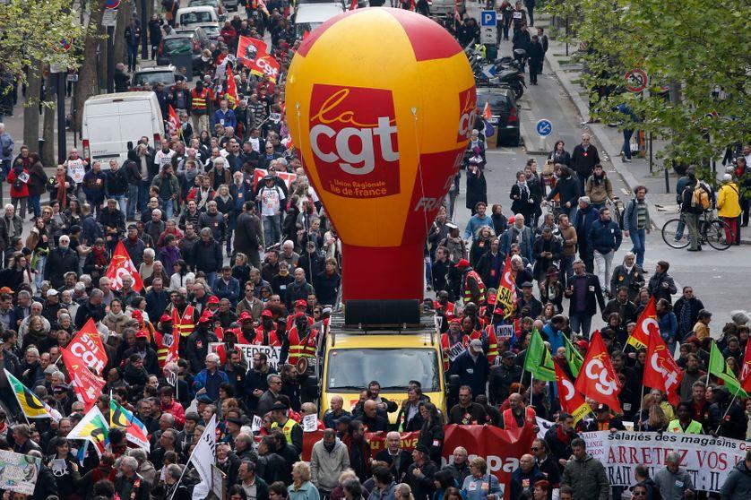 Manifestation contre la réforme du Code du Travail (Paris)