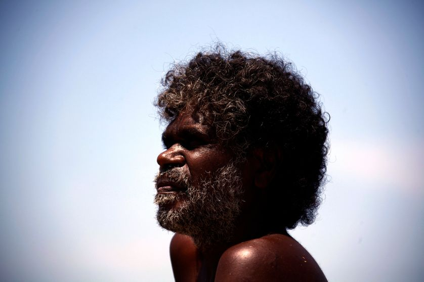 Un aborigène du East Arnhem australien