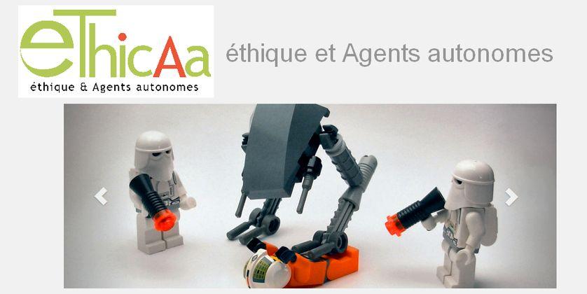 Capture d'écran du site d'EthicAa
