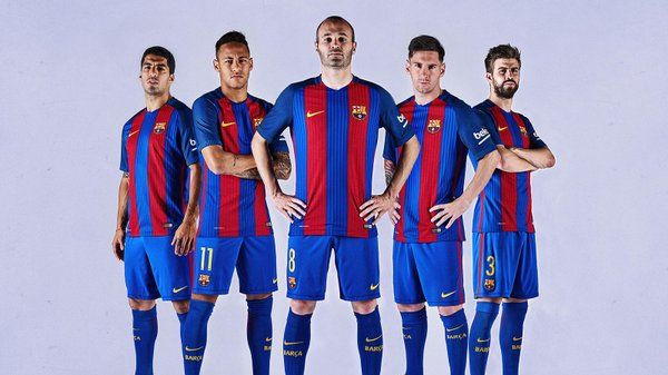 Le nouveau maillot du Barça
