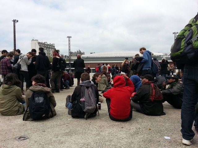 Manifestants à Rennes le 14 mai