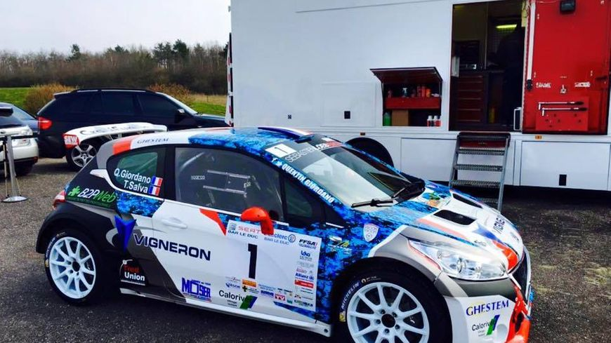 Quention Giordano part favori du Rallye de Lorraine