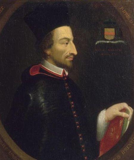 Portrait de Cornélius Jansen, père spirituel du Jansénisme - XVIIème siècle
