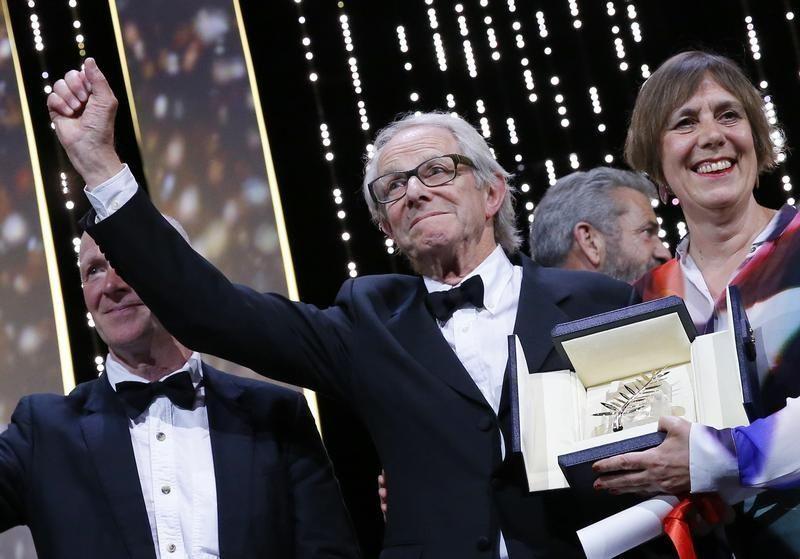 La Palme d'Or a été décernée au réalisateur britannique Ken Loach.