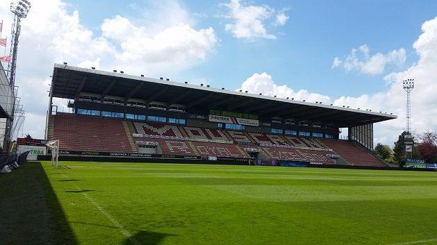 Le stade de Mouscron