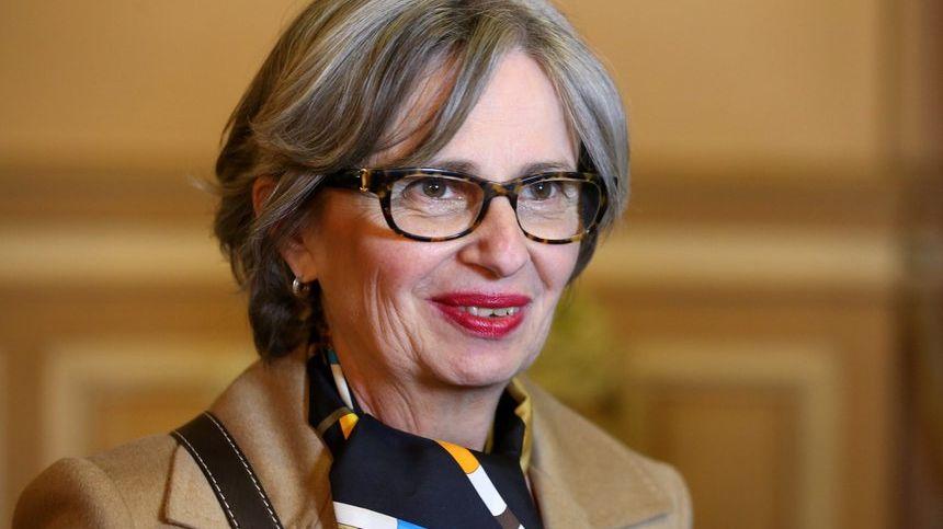 L'eurodéputée, élue d'opposition grenobloise, Mireille d'Ornano.