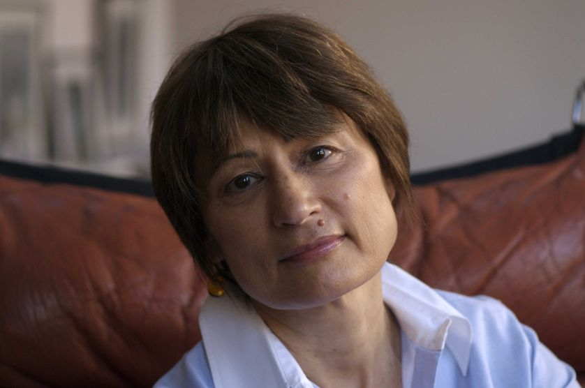 Catherine Millet, à Paris, 2008