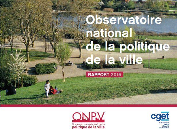 l'Observatoire National de la Politique de la Ville