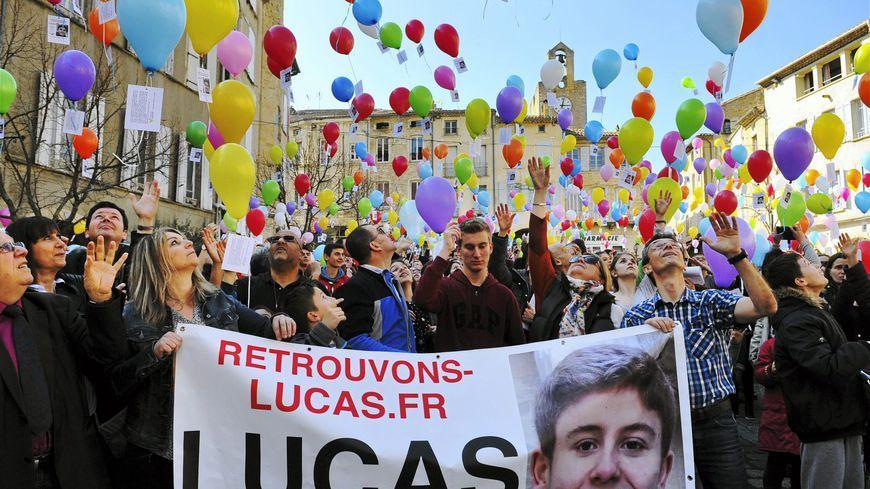 Le visage de Lucas s'affiche en 4X3 dans la Drôme, le Gard et le Vaucluse