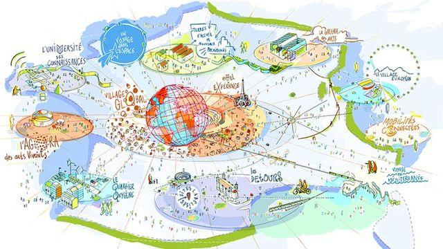 La France candidate à l'organisation de l'Exposition universelle 2025
