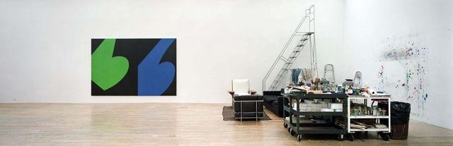 L'Atelier de l'artiste Ellsworth Kelly vu par Gautier Deblonde