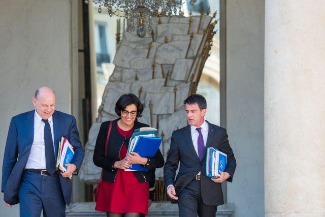 Manuel Valls, Myriam El Khomri, Jean-Marie Le Guen