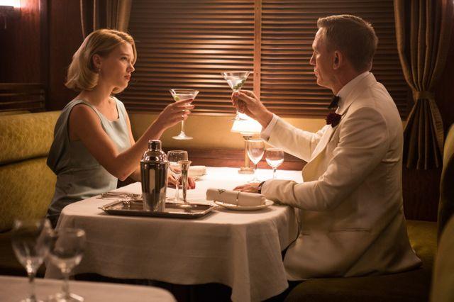 """Daniel Craig et Léa Seydoux dans """"007 Spectre"""""""