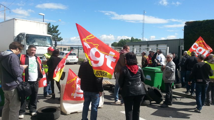 Il y a huit jours, le blocage était en Courtine à Avignon