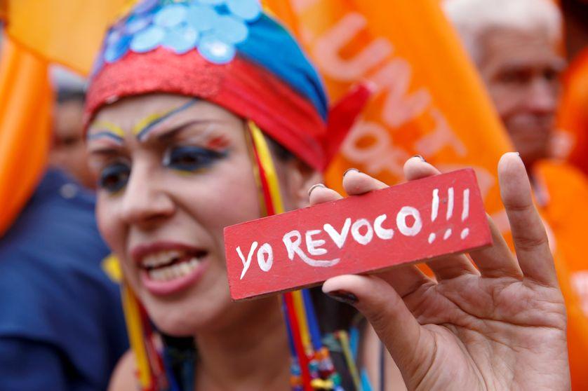 Manifestation pour demander la révocation du Président Maduro, le 11 mai 2016