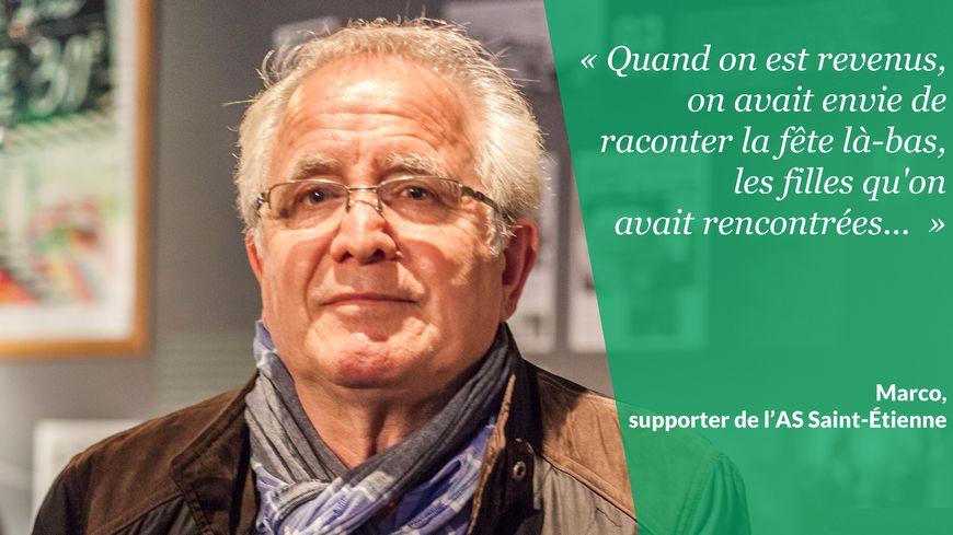 Les supporters des Verts se souviennent de 1976
