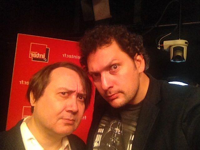 Michel Fau et Eric Antoine, 1