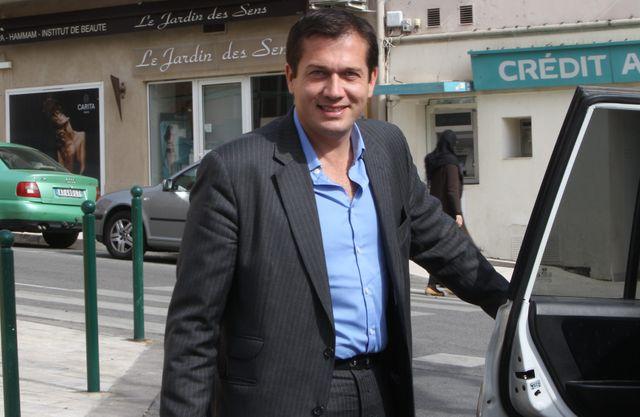 Le maire de Cogolin Marc-Etienne Lansade