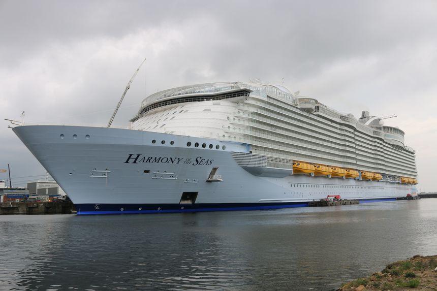 Le Harmony of the Seas est le plus grand paquebot du monde