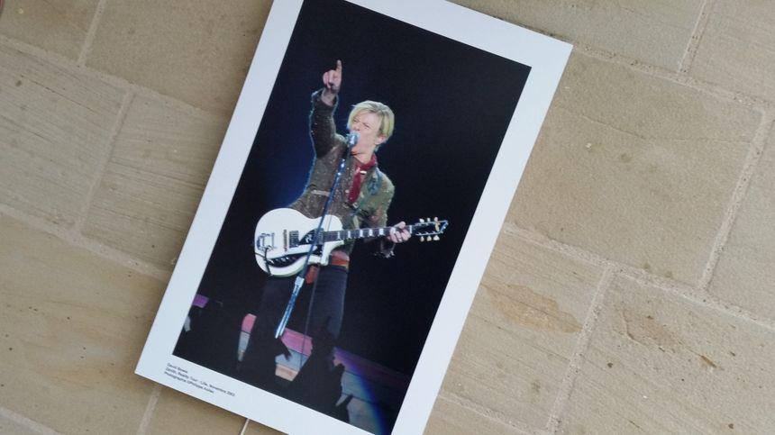 Photo de l'ultime concert de Bowie, c'était à Lille en 2003