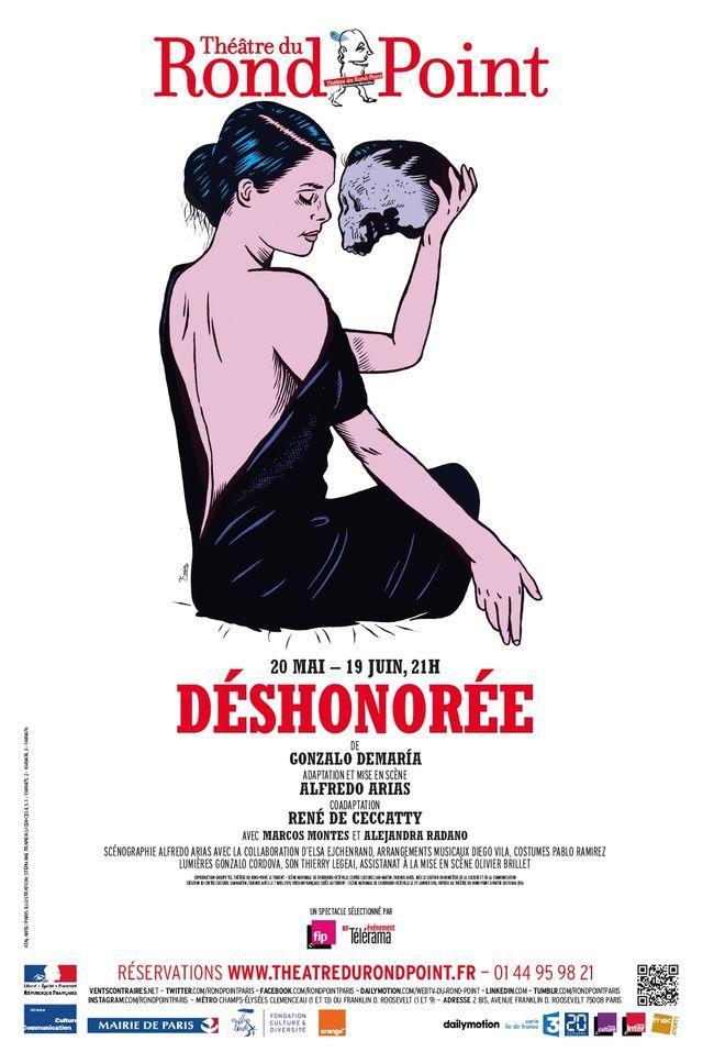 """Le spectacle mis en scène par Alfredo Arias, """"Déshonorée"""""""