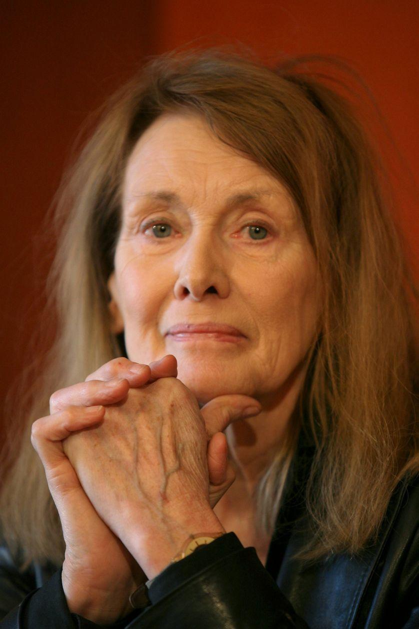 """Annie Ernaux présentait son livre """"Les années"""" en 2008 à Bordeaux"""