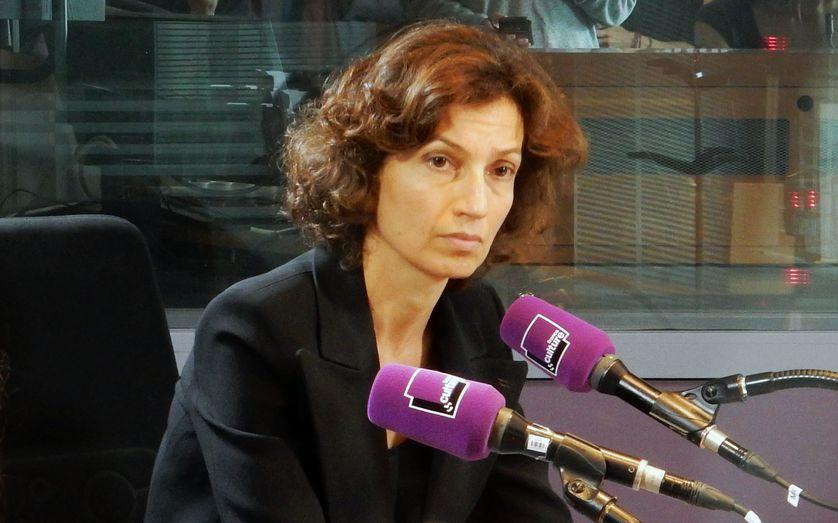 La ministre de la Culture Audrey Azoulay le 27 mai 2016 à France Culture