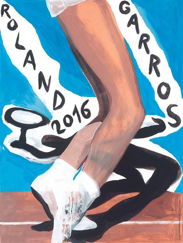 Affiche Roland Garros