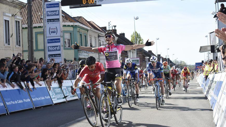 Bryan Coquard remporte pour la première fois les 4 jours de Dunkerque.