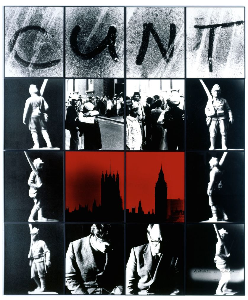"""Jan Dibbets """"Gilbert and George"""""""