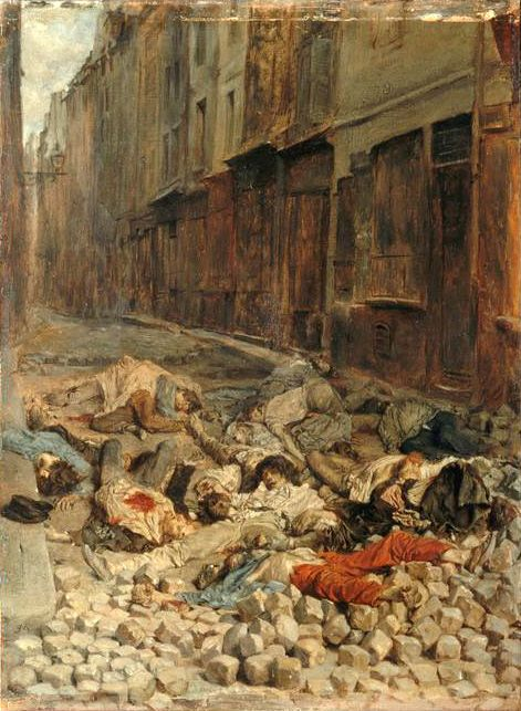 La Barricade, rue de la Mortellerie, juin 1848, ou Souvenir de guerre civile
