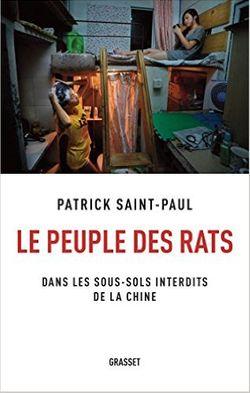"""Couverture du livre """"le peuple des rats"""""""