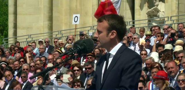 Emmanuel Macron a prononcé un discours à Orléans