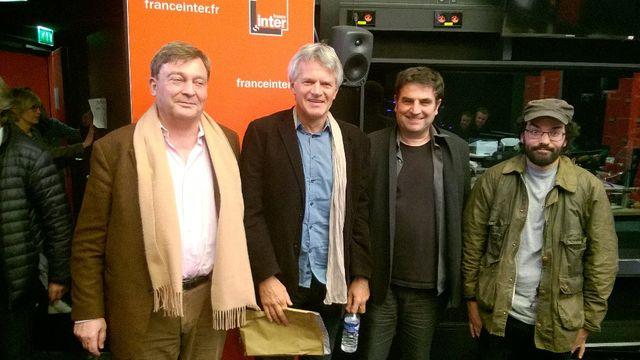Pierre Henry,Olivier Weber,Romain Goupil et Houssam el Assimi