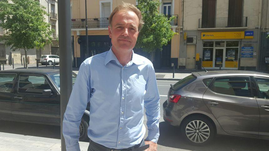 Denis Surjus, le président de la cave Vignoble Sud Roussillon