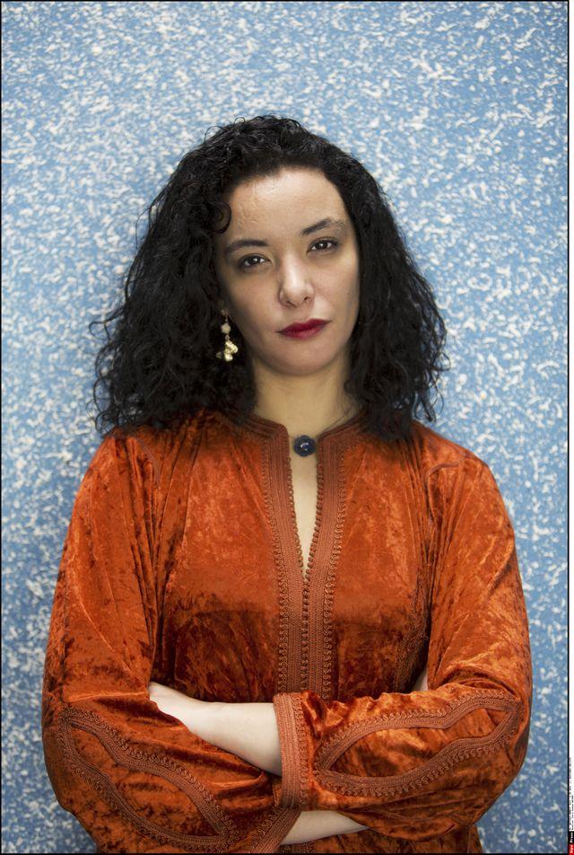 """Loubna Abidar, pour la sortie de son livre """"La dangereuse"""""""