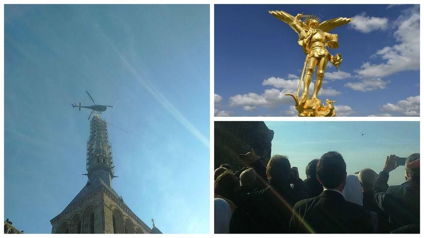 Le Mont-St-Michel a retrouvé son archange.