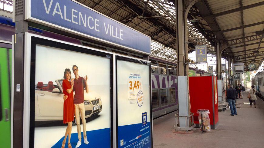 La gare de Valence Ville