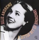 Visuel CD Julie Andrews Broadway