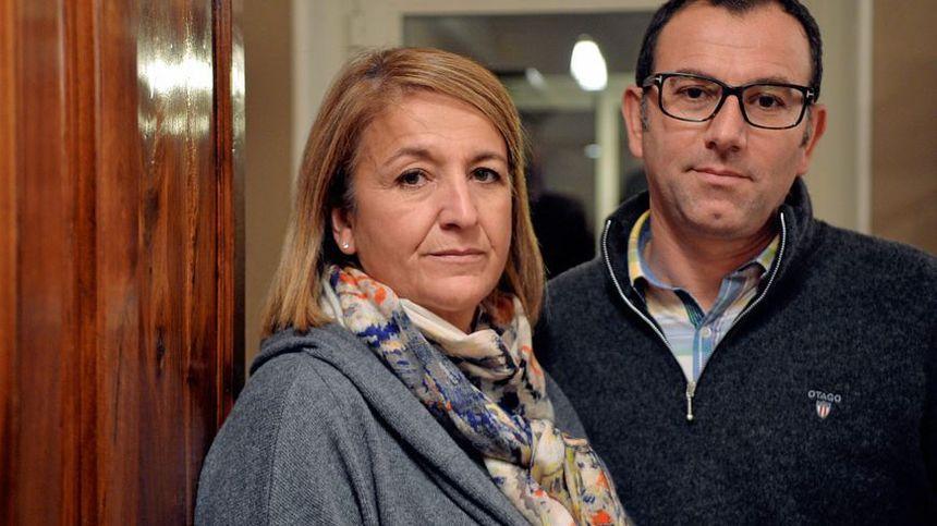 Eric et Nathalie Tronche, les parents de Lucas