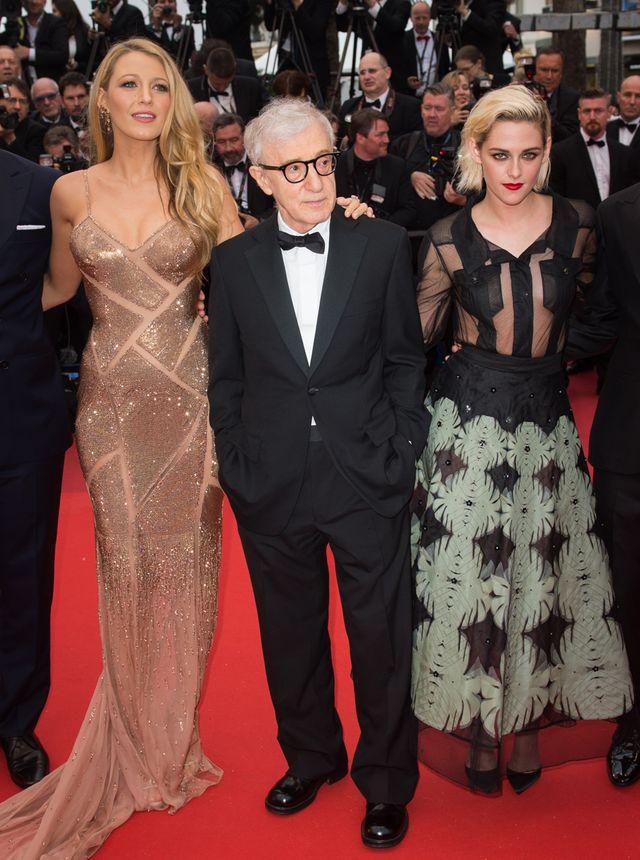 Blake Lively, Woody Allen et Kristen Stewart