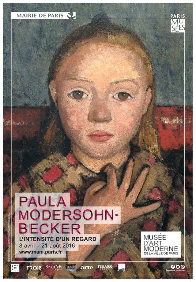 Musée d'Art moderne de la Ville de Paris  Exposition : Paula Modersohn-Becker « L'intensité d'un regard »