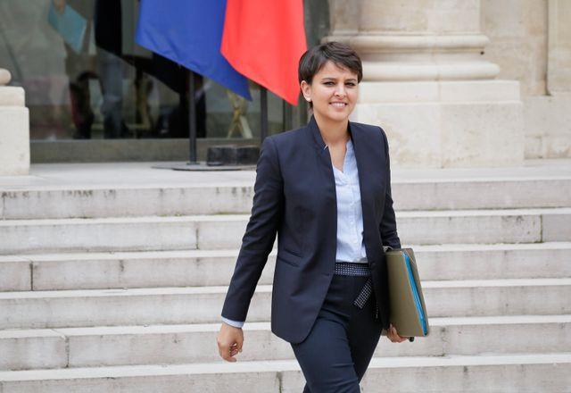 La ministre Najat Vallaud-Belkacem annonce mardi une revalorisation d'un milliard d'euros d'ici à 2020.