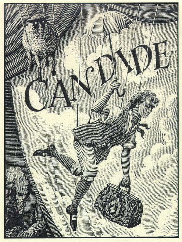 Illustration de Candide de Voltaire