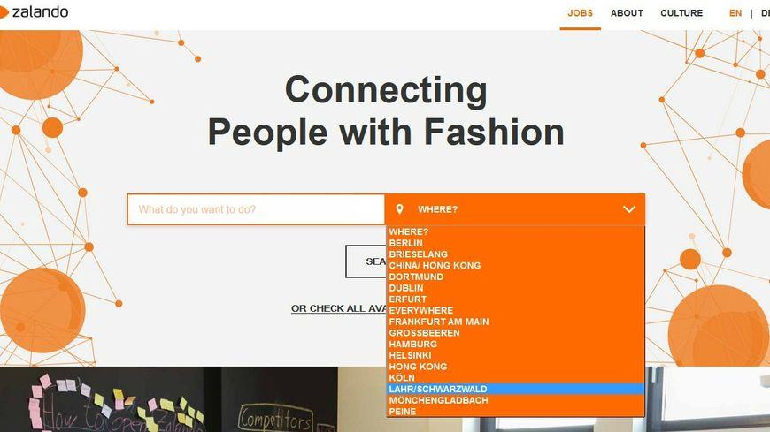 Une centaine de postes à pourvoir sur le nouveau site de Zalando