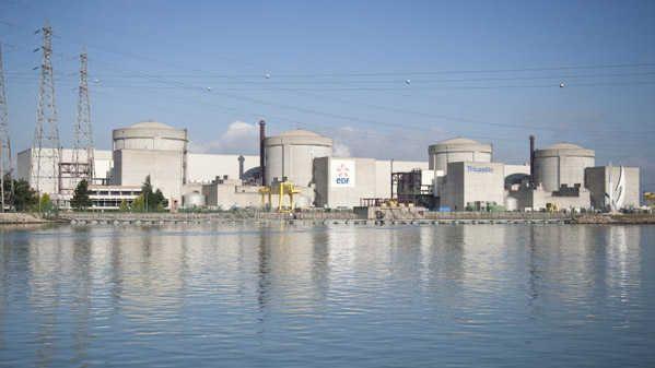 Centrale nucléaire du Tricastin.