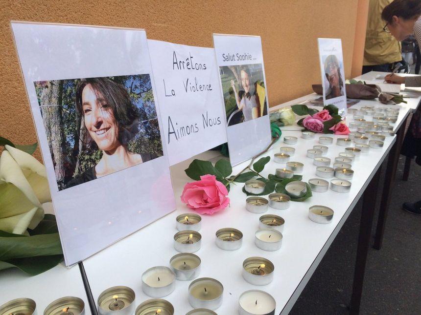 Plus de 300 personnes ont rendu hommage à Sophie